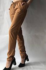 Женские летние штаны, софт №13 БАТАЛ (песок), фото 3
