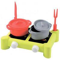 Игровой набор Ecoiffier Плита и посуда 7 аксессуаров (000602)