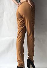 Женские летние штаны, софт №13 песок, фото 3