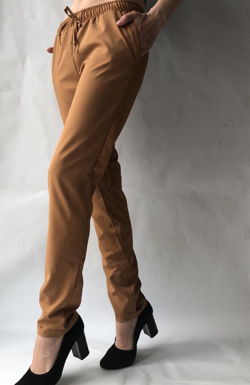 Женские летние штаны, софт №13 песок
