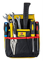 Карман TOPEX для инструмента, 11 гнезд