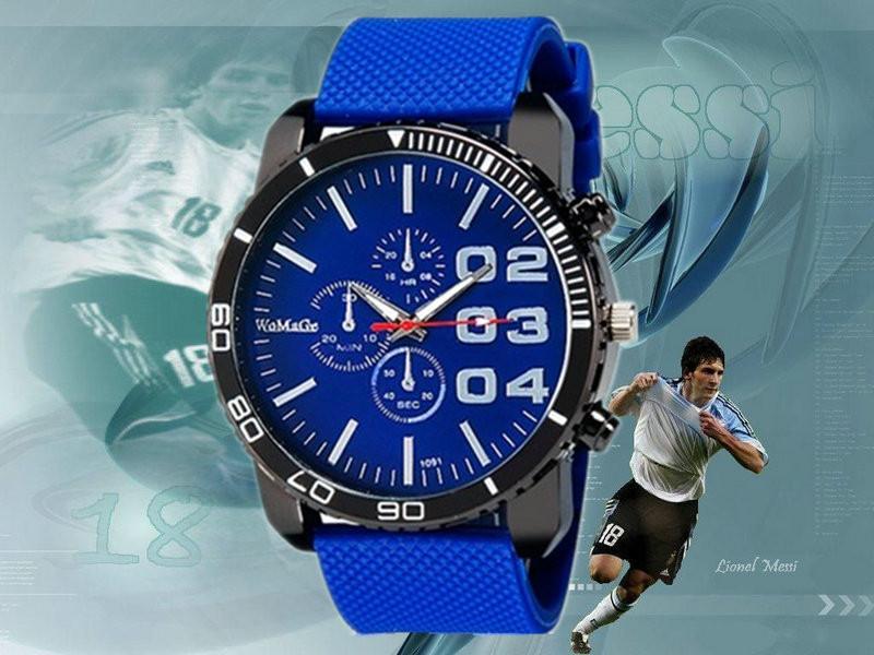 Женские часики WoMaGe Sport Blue