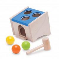 Розвиваюча іграшка WonderWorld Сортер М'яч для забивання (WED-3088)