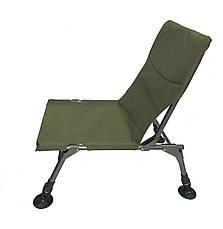 Коропове крісло vario compact для риболовлі, без підлокітників, водонепроникне до 120кг (2414), фото 3