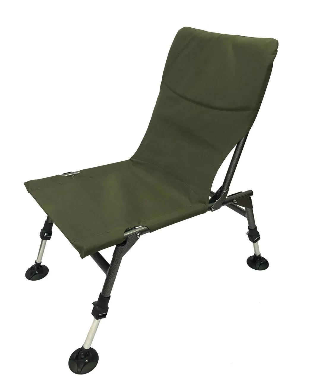Коропове крісло vario compact для риболовлі, без підлокітників, водонепроникне до 120кг (2414)