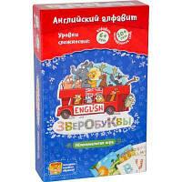 Настольная игра Банда Умников Зверобуквы English (УКР012)