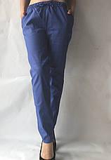 Женские летние штаны, №20 синий, фото 2