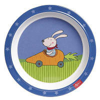 Набор детской посуды sigikid Тарелка Racing Rabbit (24614SK)