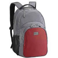 """Рюкзак для ноутбука SUMDEX 15.6"""" PON-336 Grey-Red (PON-336PR)"""