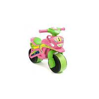Детский Мотоцикл-каталка МотоБайк Спорт музыкальный Фламинго 0139/3