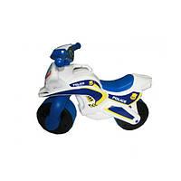 Детский Мотоцикл-каталка МотоБайк Полиция музыкальный Doloni 0139/51
