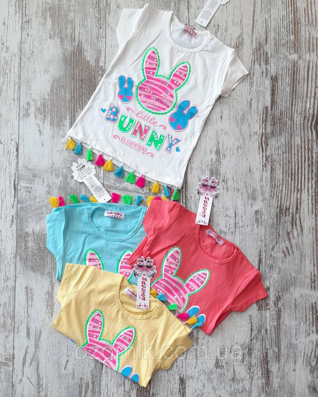 красива дитяча футболка дівчинка