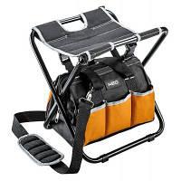 Сумка для інструменту Neo Tools табурет складаний з монтерський сумкою (84-306)
