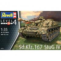 Сборная модель Revell САУ StuG IV уровень 4, 1:35 (RVL-03255)