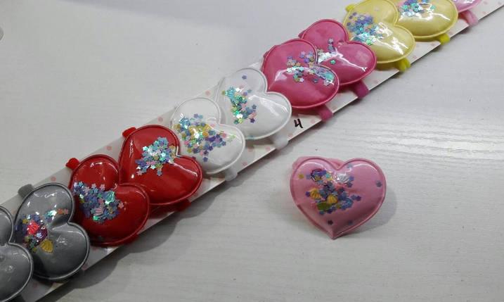 """Резинка для волосся """"Серце"""", фото 2"""