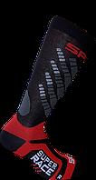 Горнолыжные носки Spring Черно-красный 887 black-red L42-45, КОД: 1495443