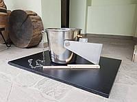 Ведро-водопад нержавеющее, 15 литров