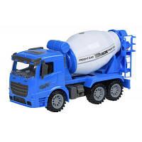 Спецтехніка Same Toy інерційна Truck Бетономішалка синя (98-612Ut-2)