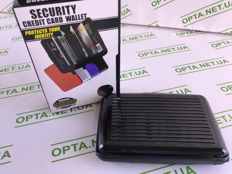 Визитница Security Credit Card Wallet