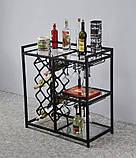 Барний стіл-стелаж, фото 3