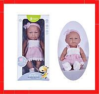 Детский игрушечный реалистичный пупс c дизайнерской одеждой Пупсик для девочки