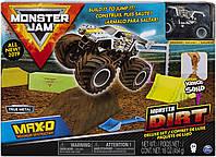 Monster Jam Max D Monster Dirt Роскошный набор, включающий 16 унций монстр-грязи и монстр-джем