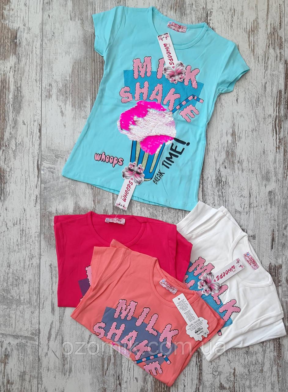 стильная футболка девочка 8 лет