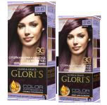Краска для волос 2.6 божоле Glori's 50мл
