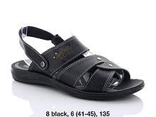 Сандалии Oscar 8 black
