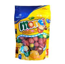 Драже Monti Magnetic з арахісом в кольорової глазурі 240 гр. (Польща)