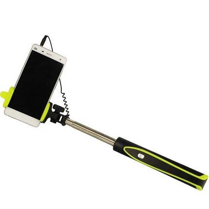 Селфи палка монопод S17 Зеленый, фото 2