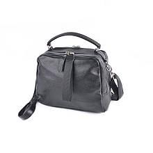 Маленька шкіряна сумка через плече з натуральної шкіри крос боді легка жіноча шкіряна сумочка повсякденна