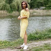 """Модне літнє плаття двійка з поясом """"Еріка"""", фото 1"""