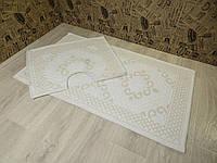 Набор ковриков для ванной и туалета. Хлопок. (Турция) 60Х100. 60100-7