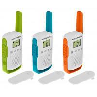 Портативна рація Motorola TALKABOUT T42 Triple Pack (B4P00811MDKMAW)
