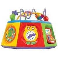 Розвиваюча іграшка Kiddieland Мультицентр (укр.мова) (054932), фото 1