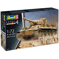 Сборная модель Revell Танк Тигр уровень 4, 1:72 (RVL-03262)