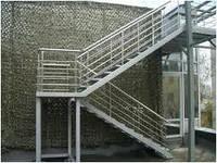 Изготовление прямых лестниц