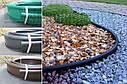 """Бордюр садовый пластиковый """"Кантри"""" оливковый, фото 7"""