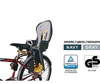 Детское велокресло заднее Safe Road с ручкой до 22 кг от 1-7лет