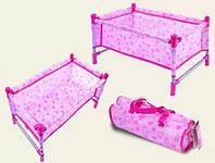 Разборная кроватка   для пупсов и кукол 7860