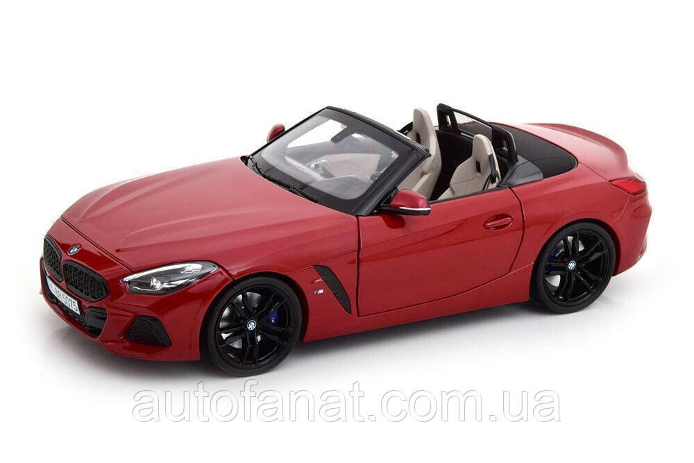 Оригинальная модель автомобиля BMW Z4 Roadster (mod.G29), San Francisco Red, 1:18 Scale (80432450998)