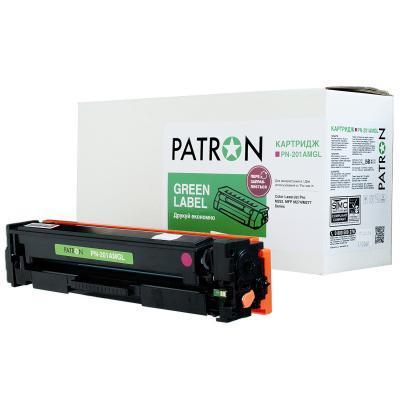 Картридж PATRON HP CLJ CF403A для M252/M274/M277 Magenta, GREEN Label (PN-201AMGL)