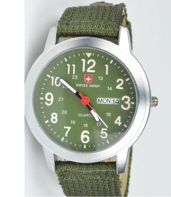 Часы SWISS ARMY Military Style green