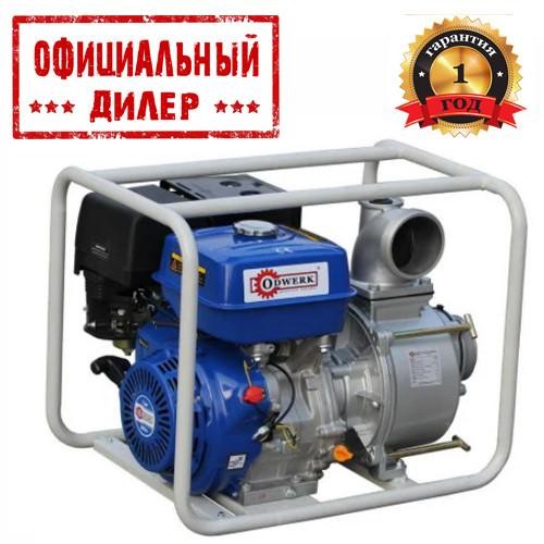 Купить Мотопомпа для грязной воды ODWERK GTP 80 (7 л.с., 1300 л/мин)