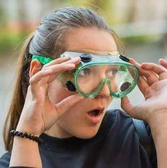 Рабочие очки закрытого типа