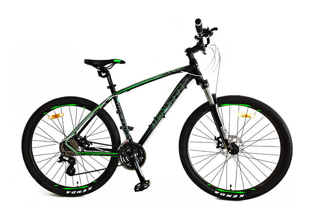Горный алюминиевый велосипед 27.5 BENETTI Supremo DD Al, фото 2