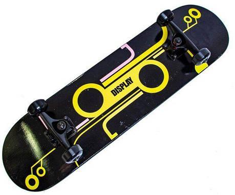 Скейт для трюков SK8 - Yellow SKATE скейтборд трюковой, фото 2