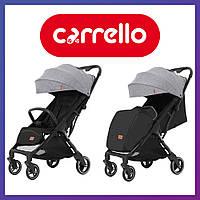 Коляска прогулочная CARRELLO Turbo CRL-5503 Cool Grey | Коляска Карелло Серая с автоматическим складыванием