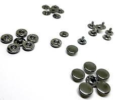 Кнопка 10 мм Темный никель ( в упаковке 720 штук )